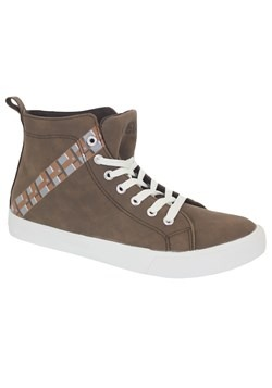 Star Wars Chewbacca Mens High Top Sneakers alt 1
