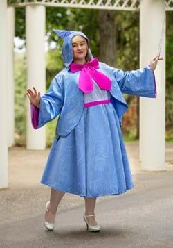 Plus Size Adult Fairy Godmother Costume2