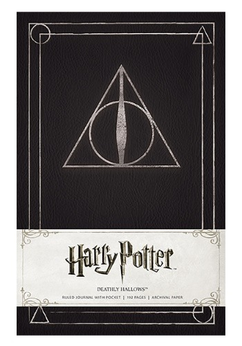 Harry Potter Deathly Hallows Hardcover Journal