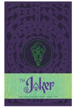 The Joker Hardcover Ruled Journal