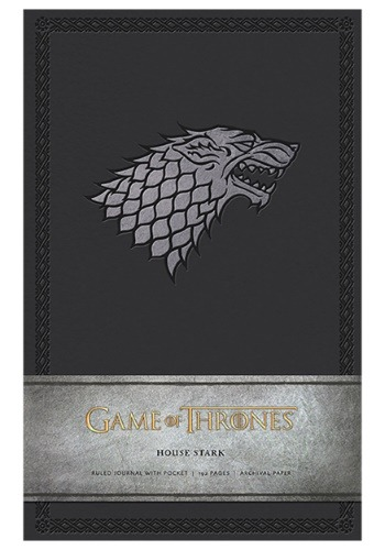 Game of Thrones House Stark Hardcover Ruled Journal
