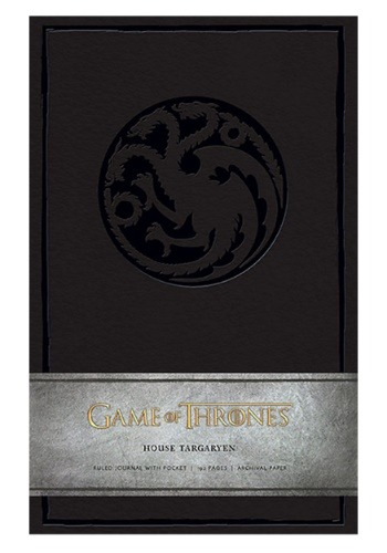 Game of Thrones House Taragaryen Hardcover Ruled Journal