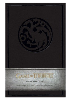 Game of Thrones House Taragaryen Hardcover Ruled Journal