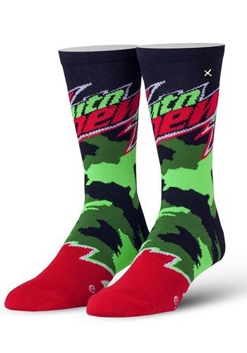 Adult Odd Sox Mountain Dew Camo Knit Socks