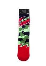 Adult Odd Sox Mountain Dew Camo Knit Socks alt1