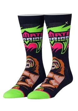 Adult Odd Sox WWE 'From Parts Unknown' Ultimate Warrior Upda