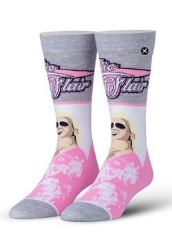 Adult Odd Sox WWE 'Flair Flourish' Ric Flair Knit Socks