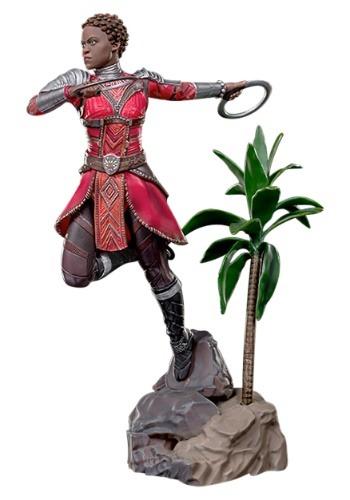 "Nakia ""Black Panther"" Iron Studios Battle Diorama Statue"