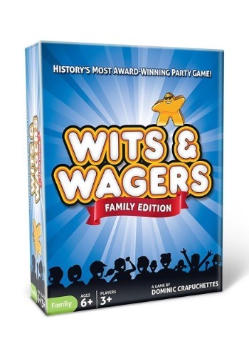 Family Edition: Wits & Wagers Party Game