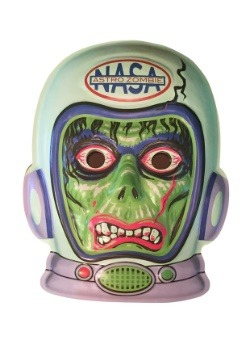 "Glow-In-The-Dark Astronaut Zombie Vacuform 23"" Wall Decor"