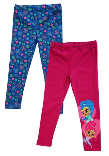 2 Pack of Shimmer & Shine Girl's Jogger Pants Update Main