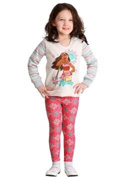 Girls Moana Hoodie & Legging Set