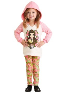 Beauty & the Beast Girl's Belle Hoodie & Leggings Set