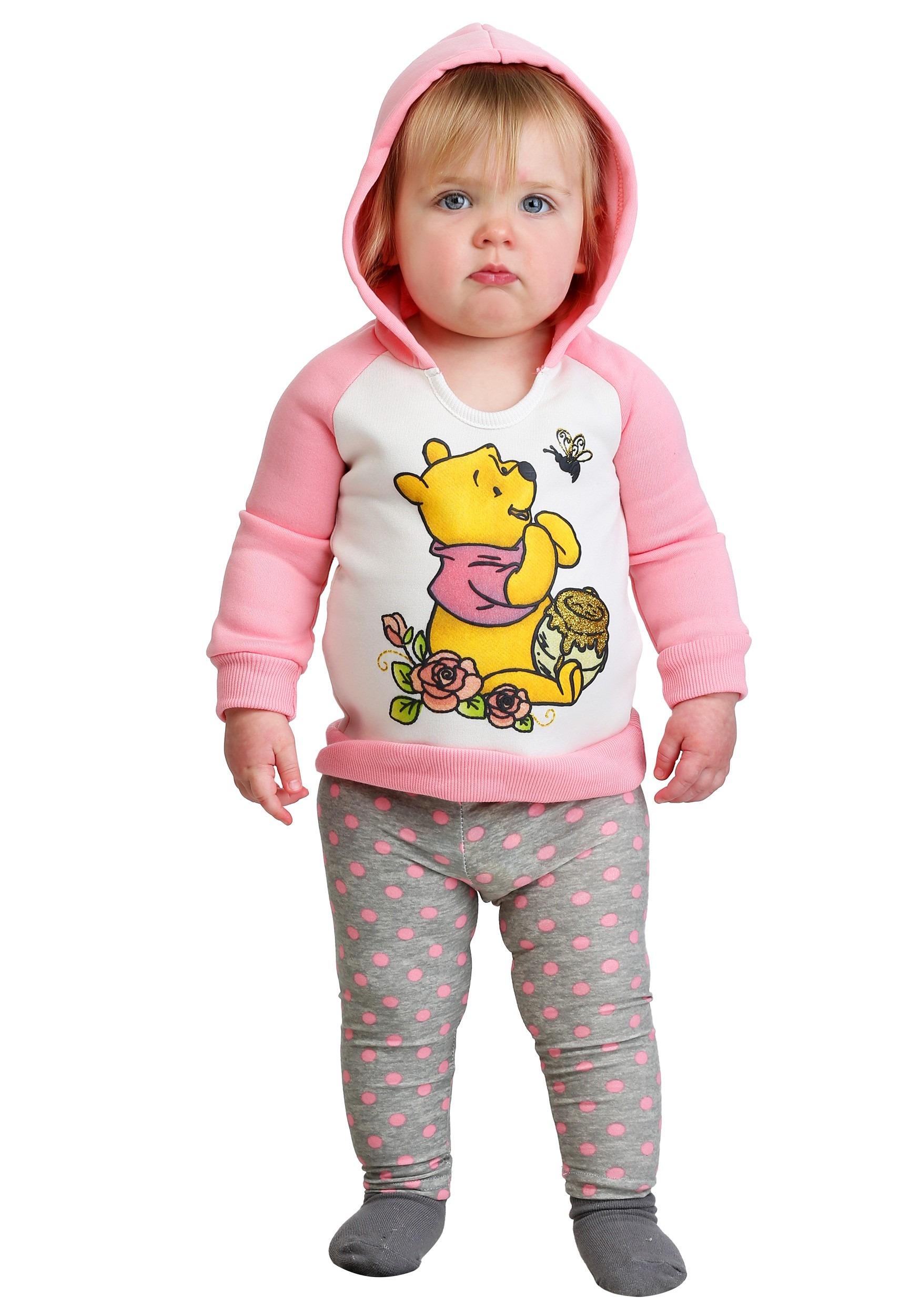 7c155a3db8cd2 Winnie the Pooh Toddler's Honey Hoodie & Leggings Set