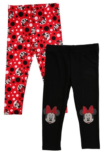 2 Pack Minnie Mouse Girl's Leggings Update Main