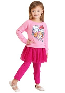 Paw Patrol Pups Top & Tunic Legging Set
