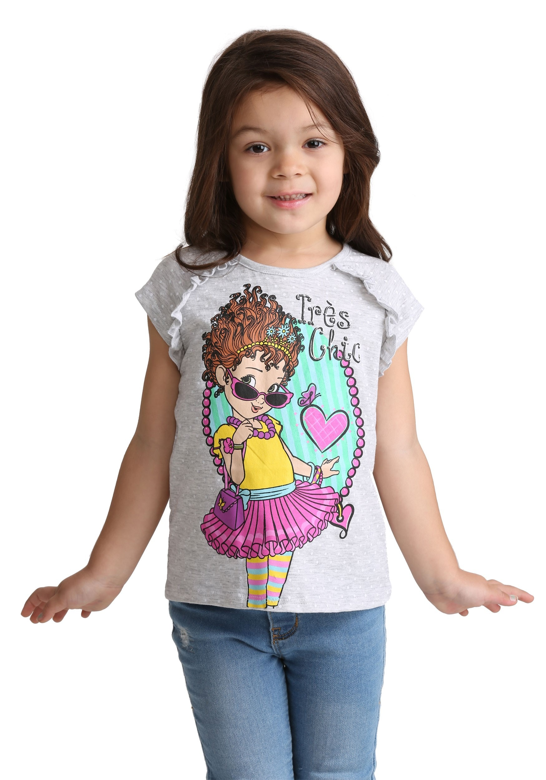 80332e0a Fancy Nancy Tres Chic Tee for Girls