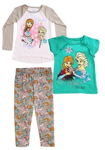 Frozen 3 Piece Friends are Magic Tops & Legging Set Update M