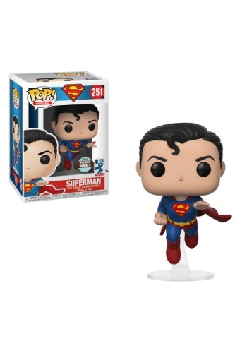 Pop! Heroes: Superman - Flying Superman (80th Anniversary)