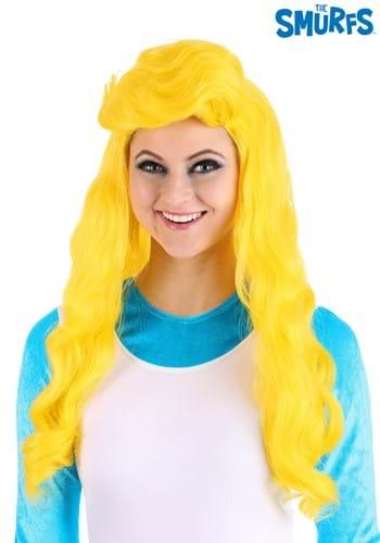 The Smurfs Women's Blonde Smurfette Wig1