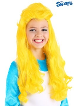 The Smurfs Girls Smurfette Wig1