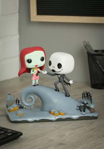 POP Movie Moment Nightmare Before Christmas Jack and Sally-U