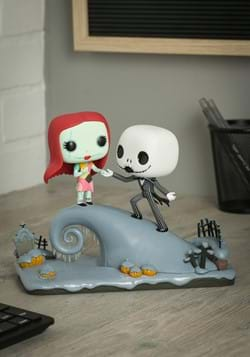 POP Movie Moment Nightmare Before Christmas Jack and Sally