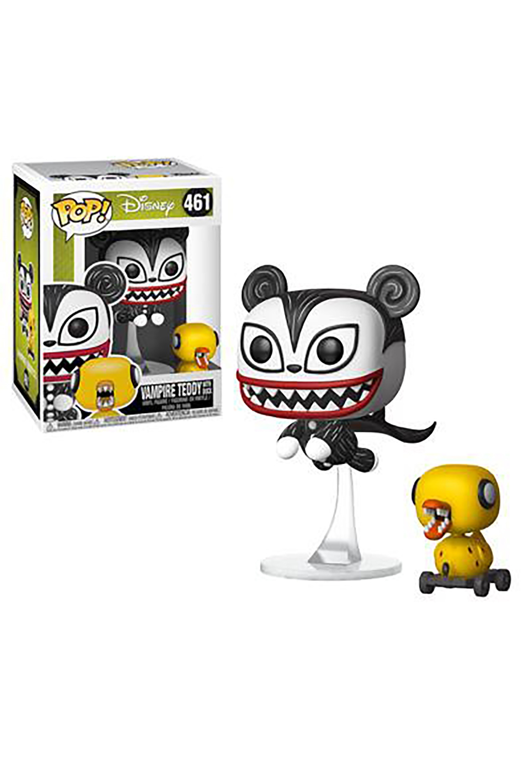 Pop! Disney: Nightmare Before Christmas - Vampire Teddy w/ Undead Duck