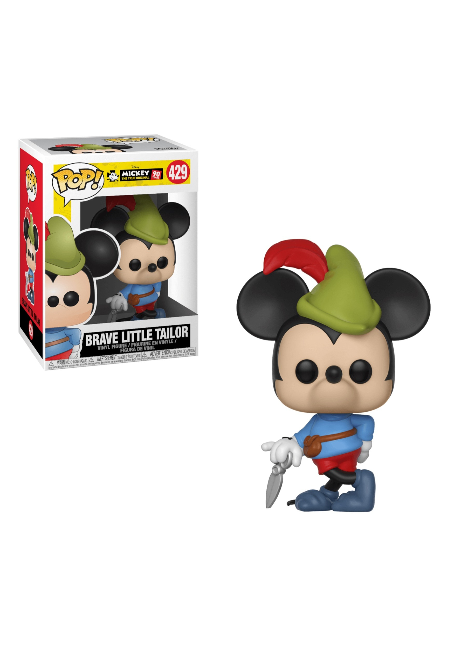 Pop! Disney: Brave Little Tailor- Mickey's 90th