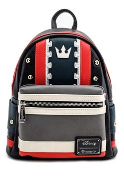 Loungefly Kingdom Hearts Faux Leather Mini Backpack