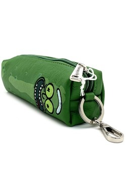 Loungefly Rick and Morty Pickle Rick Faux Leather Coin Bag