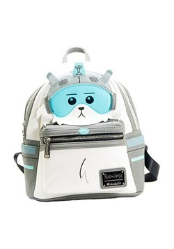 Loungefly Rick and Morty Snowball Faux Leather Mini Backpack