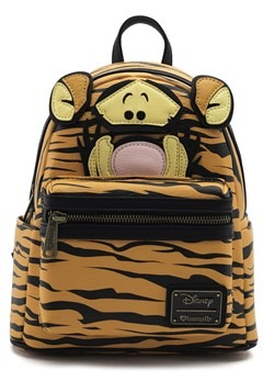 Loungefly Winnie the Pooh Tigger Faux Mohair Mini Backpack