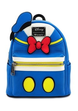 Loungefly Donald Duck Faux Leather Mini Backpack