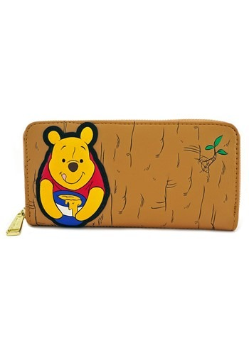 Loungefly Winnie the Pooh Faux Leather Zip Wallet