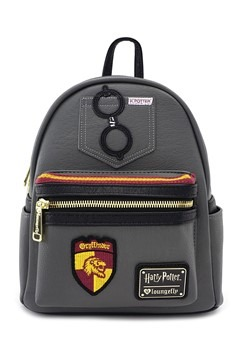Loungefly Harry Potter Gryffindor Faux Leather Mini Backpack