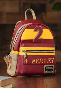Loungefly Ron Weasley Quidditch Faux Leather Mini Pack updat