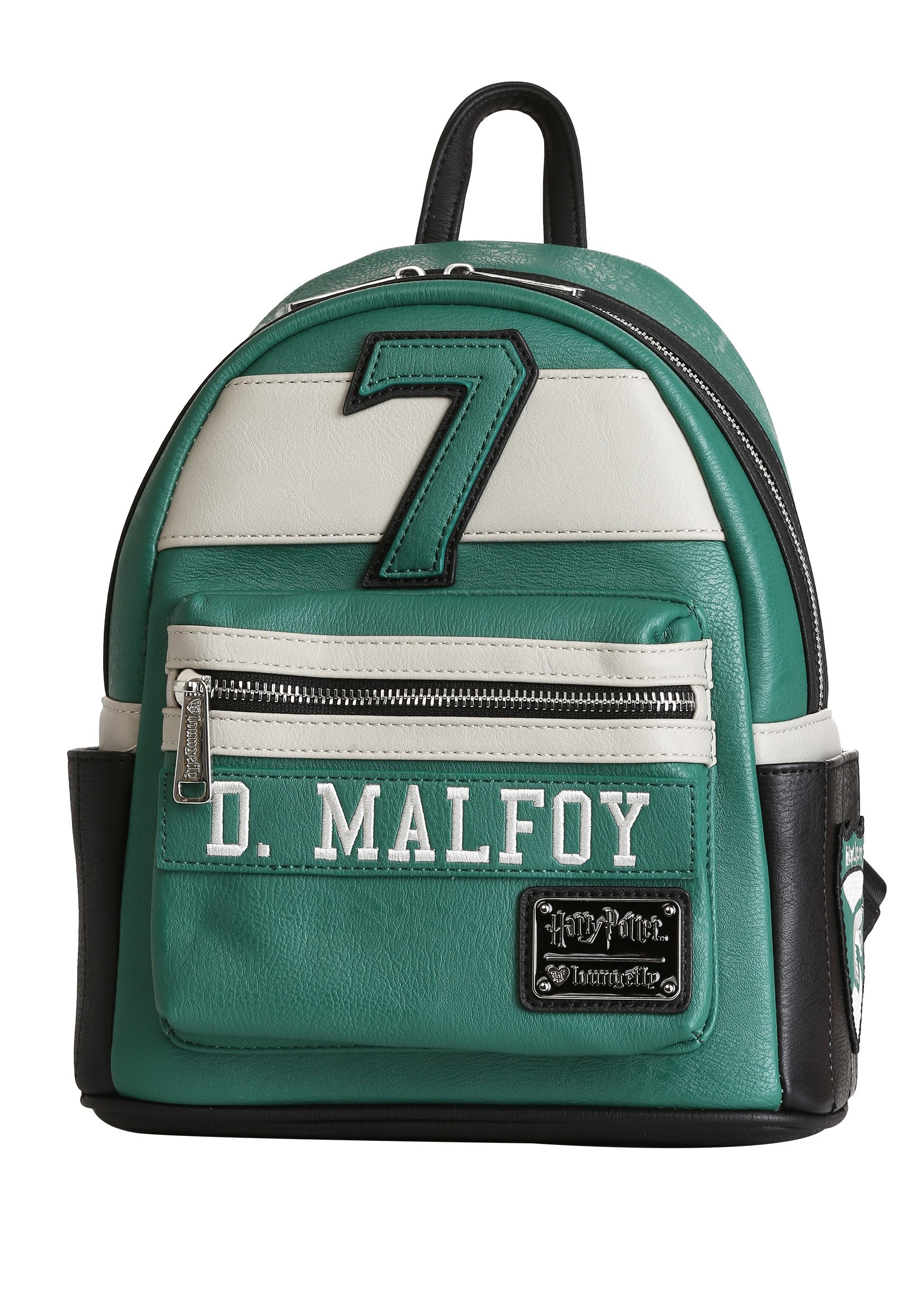 21ba9fddad9 Loungefly Harry Potter- Draco Malfoy  7 Quidditch Mini Backpack
