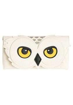 Harry Potter Hedwig Faux Leather Trifold Wallet-update1