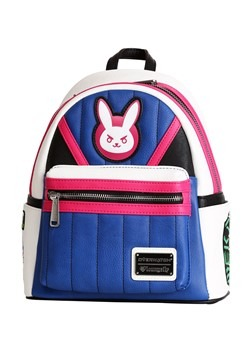 Loungefly Overwatch D.Va Faux Leather Mini Backpack