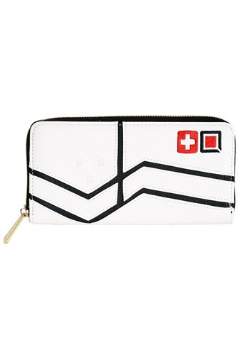 Loungefly Overwatch Mercy Faux Leather Zip-around Wallet