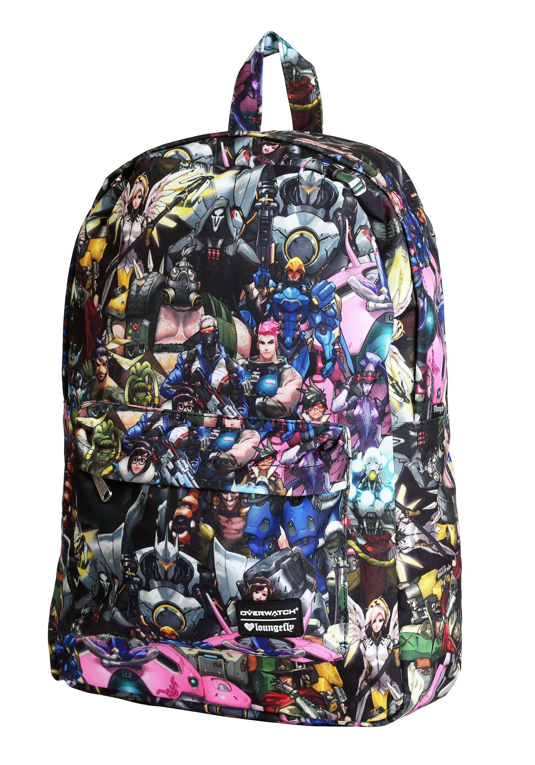 203f7707e24 Loungefly Overwatch All Over Print Characters Backpack