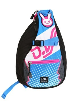 Loungefly Overwatch D.Va Nylon Sling Backpack