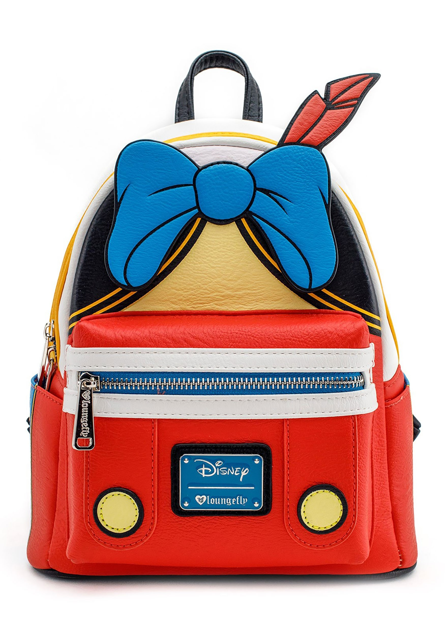 1e877c29083 Loungefly Disney Faux Leather Pinocchio Mini Backpack