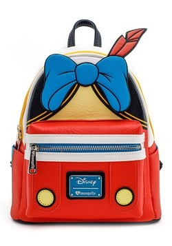 Loungefly Disney Pinocchio Faux Leather Mini Backpack