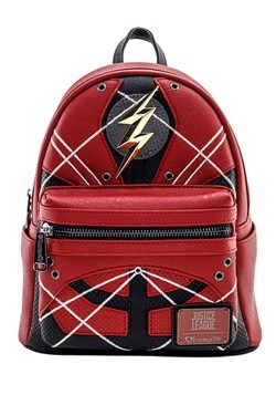 Loungefly The Flash Faux Leather Mini Backpack