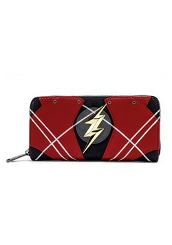 Loungefly: The Flash Faux Leather Zip Around Wallet