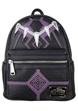 Loungefly: Black Panther Faux Leather Mini Backpack