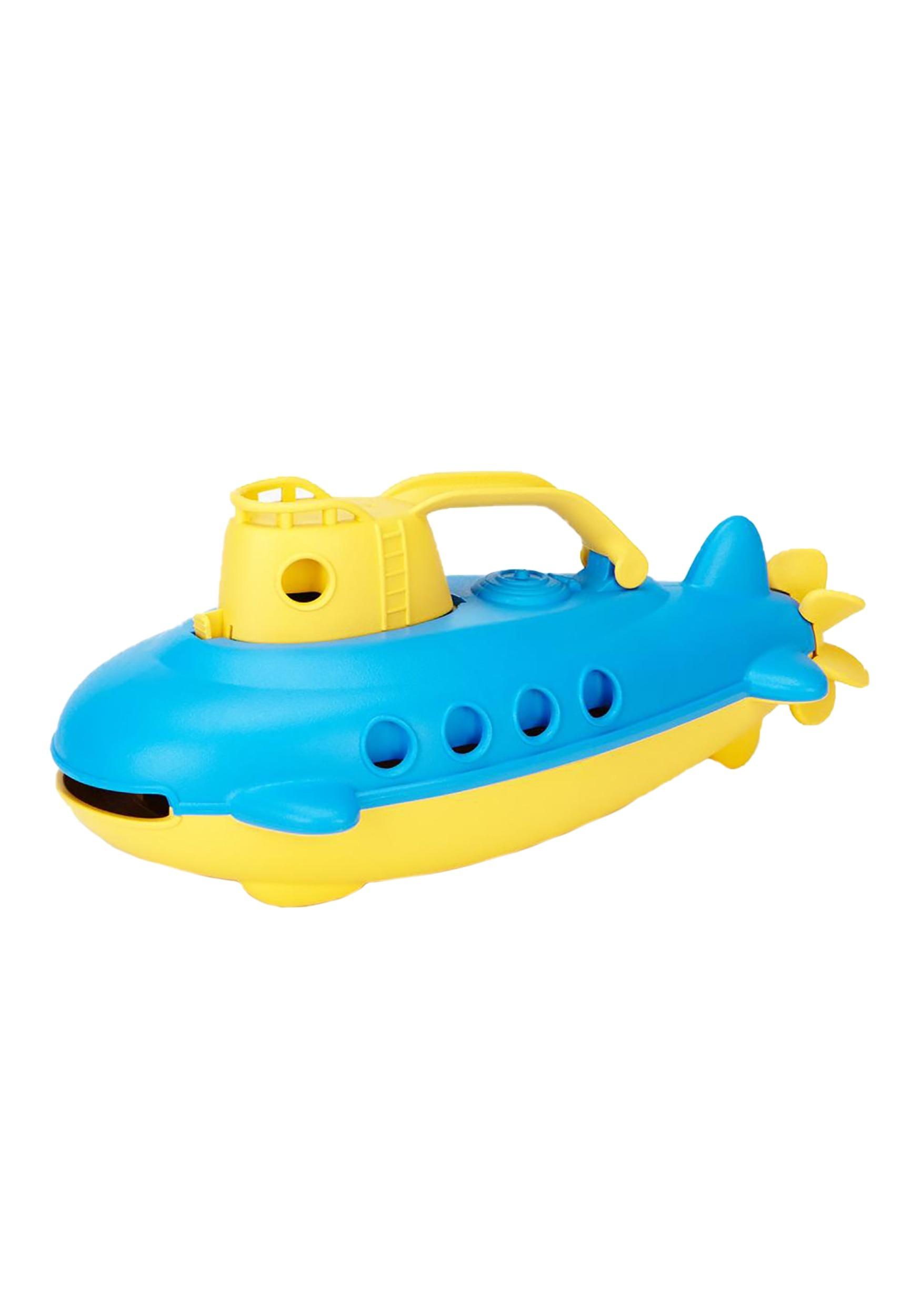 Green Toys Yellow-Handle Submarine