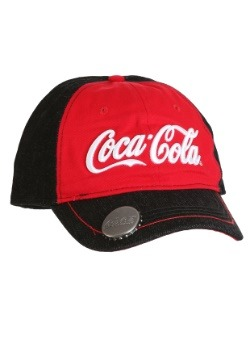 Coca-Cola Embroidered Denim Cap